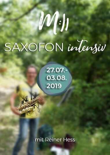 Saxofon intensiv
