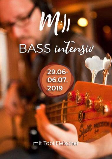 Bass Intensiv Kurs mit Tobi Fleischer