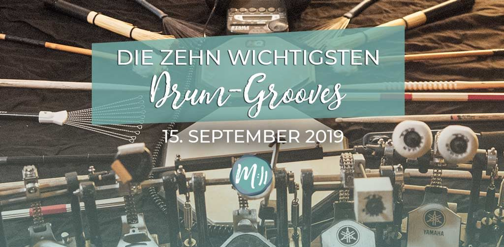 10 Drum-Grooves Schlagzeug Workshop 2019 in Berlin
