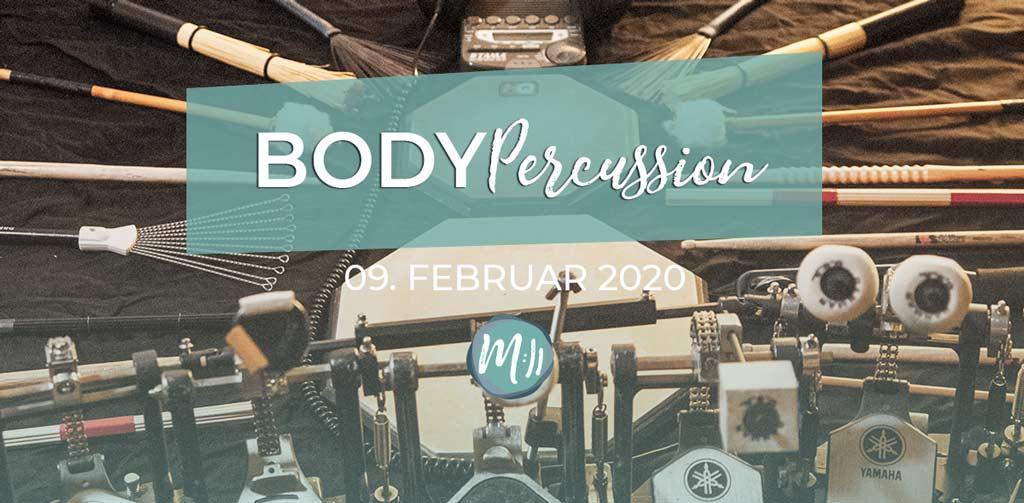 Bodypercussion [Rhythmik-Workshop]