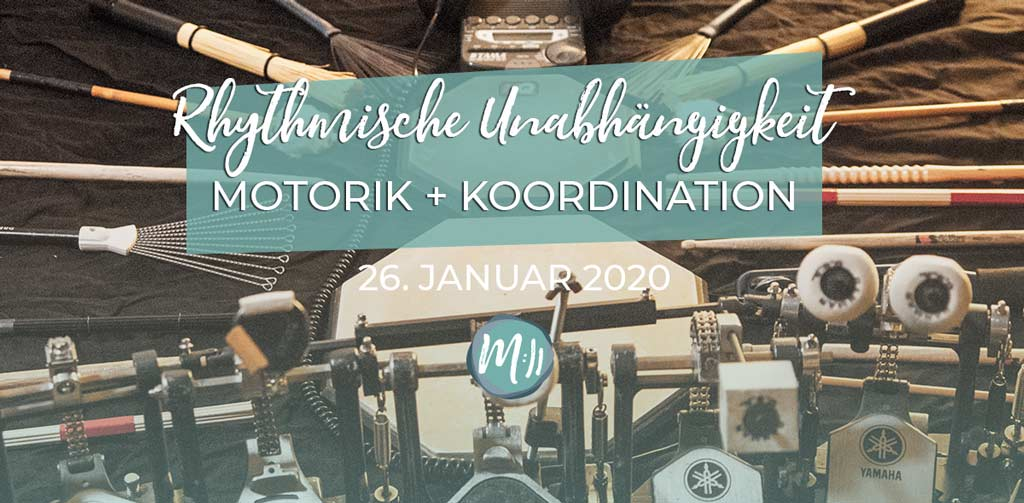 Rhythmische Unabhängigkeit: Motorik und Koordination [Rhythmik-Workshop]