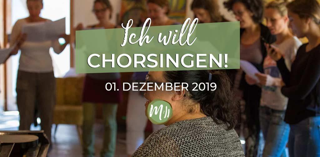 Ich will Chorsingen Workshop Gesang Berlin