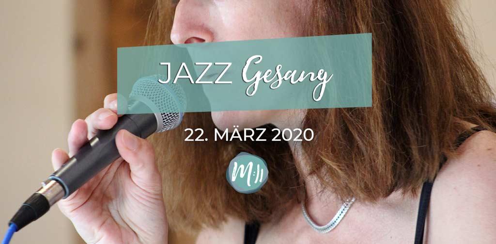 Das erste Mal Jazzgesang [Gesangsworkshop]