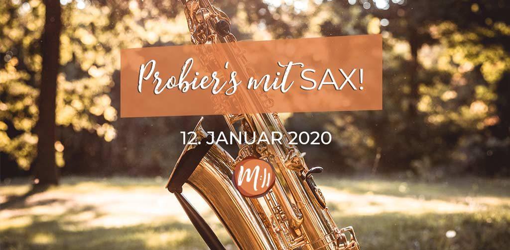 Saxofon Anfängerkurs Workshop Berlin mit Reiner Hess