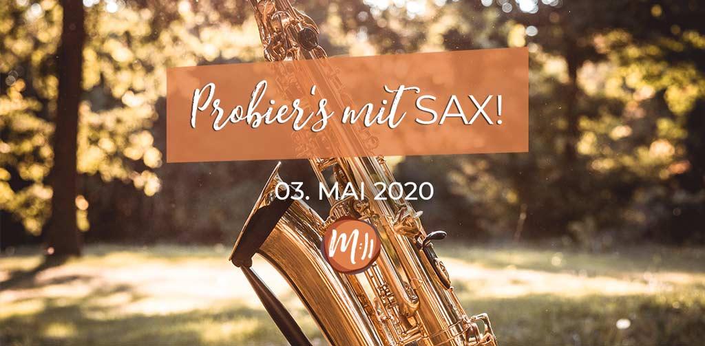 Probier's mit Sax [Saxophon-Workshop]
