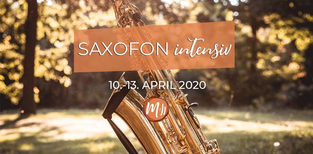 Saxofon Intensiv Workshop mit Reiner Hess