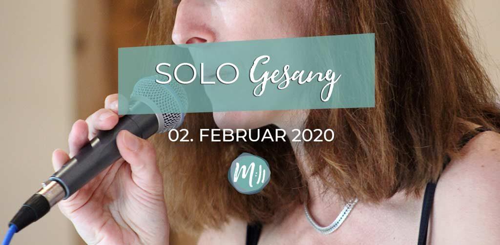 Gesangsworkshop Berlin Solo Gesang
