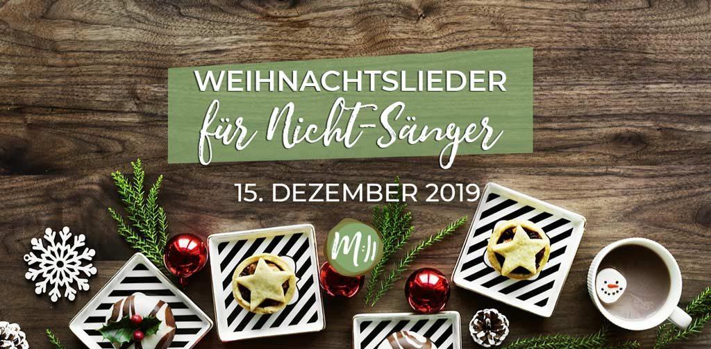 Weihnachtslieder Gesang.Weihnachtslieder Für Nichtsänger Dein Schnuppermusik Workshop Zum