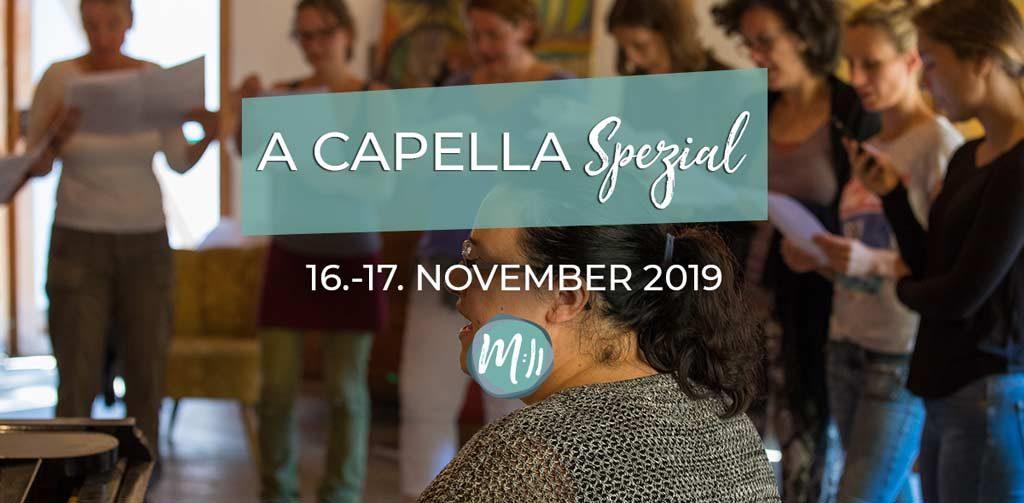 A Capella Spezialkurs Gesang Workshop Berlin