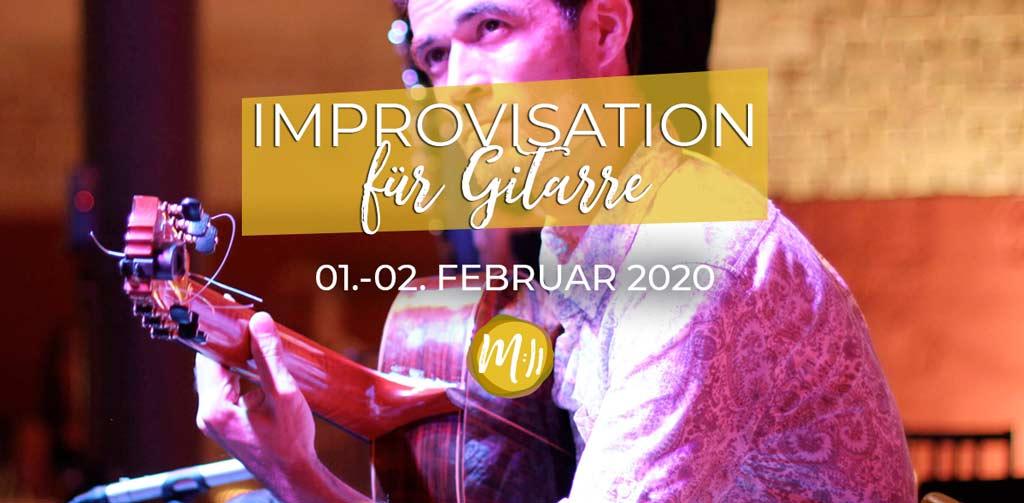 Improvisation für Gitarre [Gitarren-Workshop]