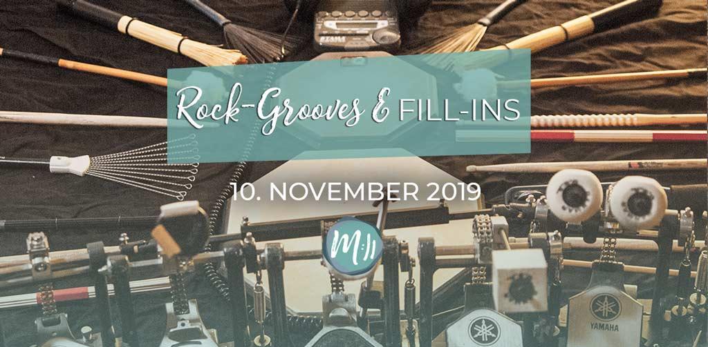 Rock-Grooves und Fill-ins [Schlagzeug-Workshop]