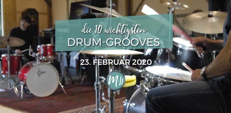 Die 10 wichtigsten Drum-Grooves [Schlagzeug-Workshop]