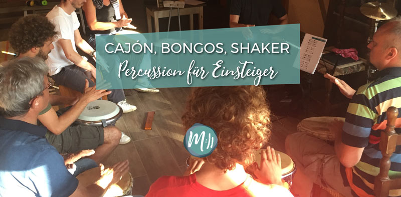 Cajon Bongos Shaker Percussion Workshop