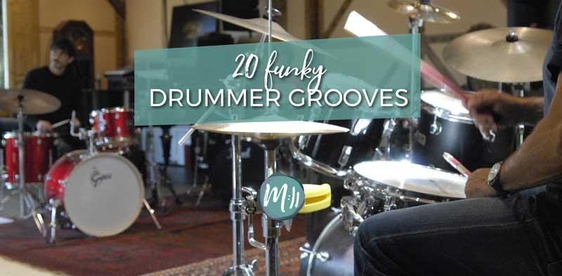 20 Funky Drummer Grooves [Schlagzeug-Workshop]