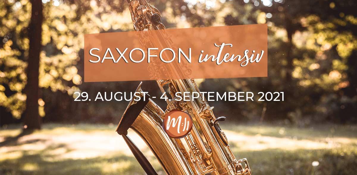 Saxofon Intensiv Saxophon Workshop