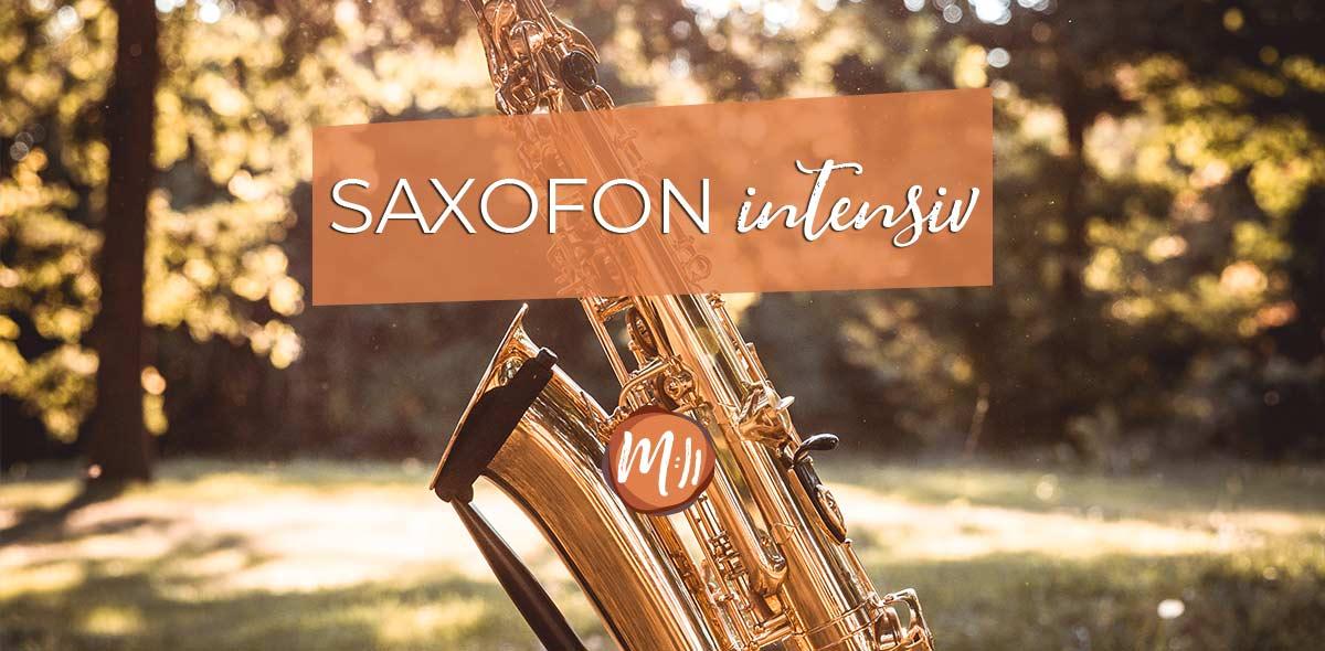 Saxofon intensiv [Saxofon-Workshop]